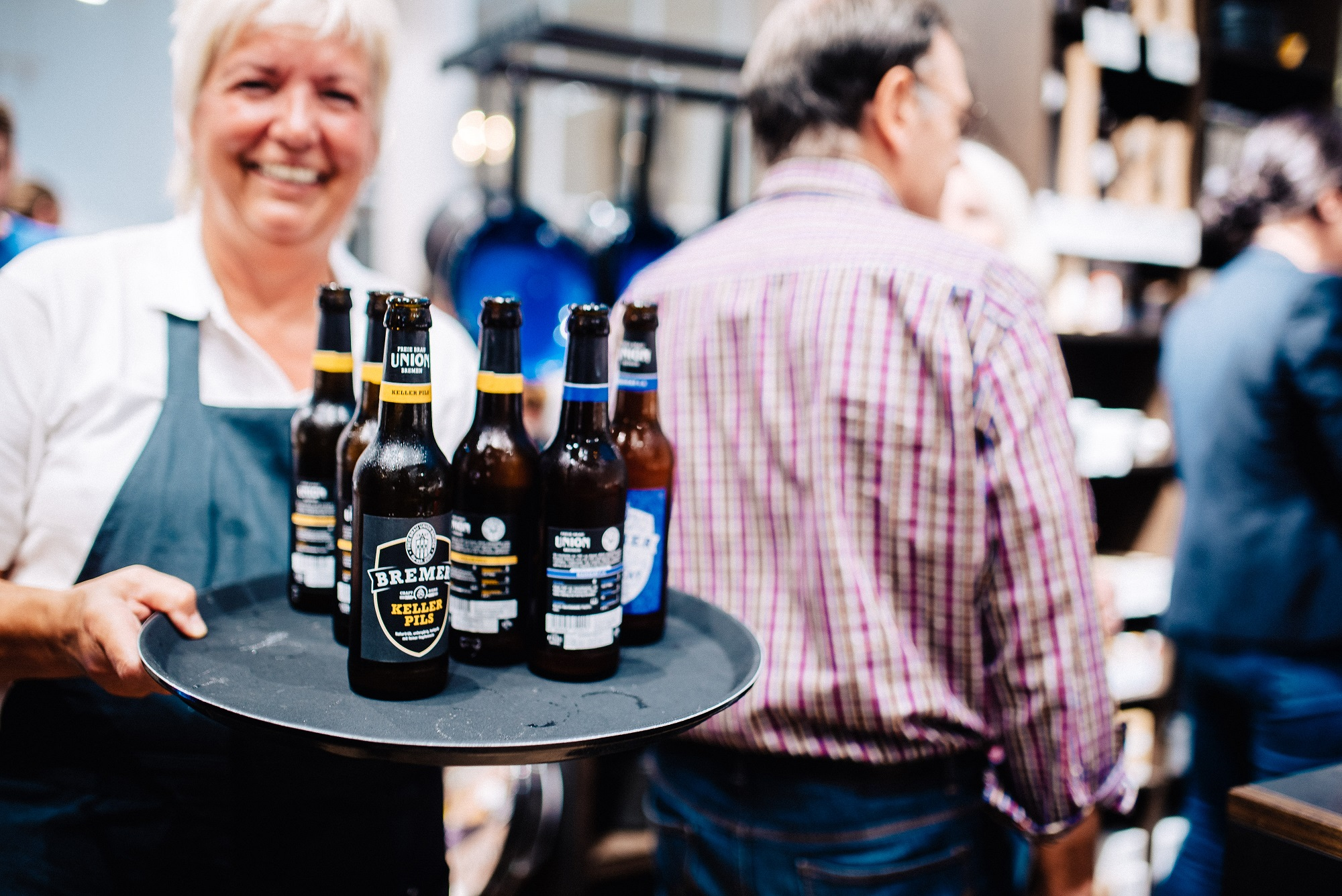 Die Craft-Biere der Bremer Union Brauerei gibt es auch bei Manufactum (c) Jonas Ginter