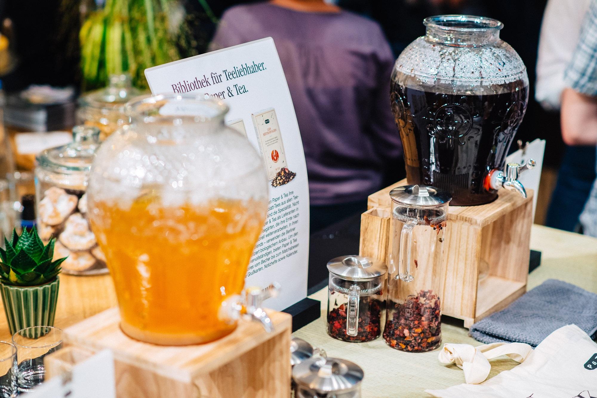 Habt ihr schon mal kalt aufgebrühten Tee probiert? (c) Jonas Ginter